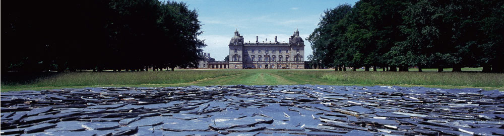 Landscape view of Houghton Hall